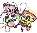 Karate Spongebob/Karate Sandy