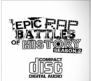 Epic Rap Battles of History Season 2 CD