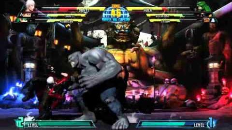 Dante reveal trailer for Marvel vs. Capcom 3