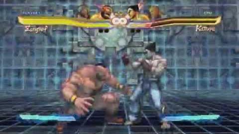 Street Fighter X Tekken Zangief Super Art