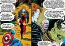 Jennifer Ransome (Earth-616), Steven Rogers (Earth-616), and Charles Xavier (Earth-616) from Avengers Vol 1 369 0001.jpg