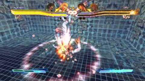 Street Fighter X Tekken - Lili Super Art