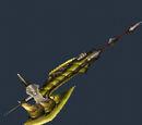 MH3U - Hache Dragon Pucelle