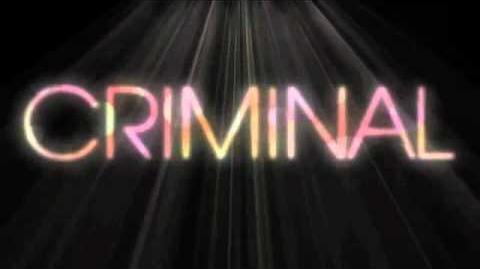 "Britney Spears - ""Criminal"" Official Lyric Video"