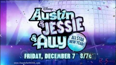 Austin & Jessie & Ally - All Star New Year Crossover Promo HD