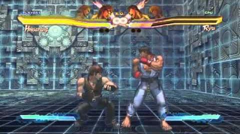 Hwoarang's Super Art and Cross Assault in Street Fighter X Tekken