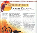 Anansi Know-all