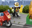 60000 La moto des pompiers