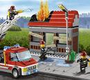 60003 L'intervention du camion de pompier