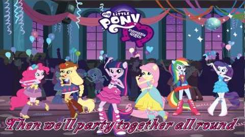 """Equestria Girls- """"Helping Twilight win the crown""""- Full song with lyrics-0"""