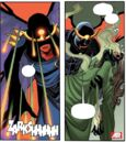 Rogue (Anna Marie) (Earth-26111) and Apocalypse Twins (Earth-616) from Uncanny Avengers Vol 1 8AU 0001.jpg
