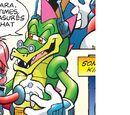 Argyle the Crocodile