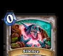 Silence (card)