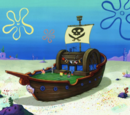 Mr. Krabs' pirate ship