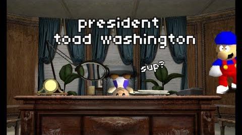 President Toad Washington