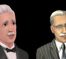 Sims com o desejo duradouro CEO de uma Megacorporação