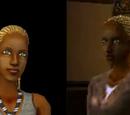Sims com cabelo loiro