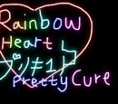 Rainbow Heart Pretty Cure