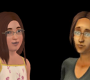 Sims que amam a comida dim sum vegetariano