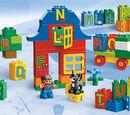 6051 Apprendre l'alphabet avec DUPLO