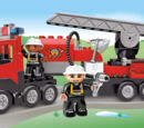 4977 Le camion des pompiers