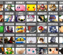AdamGregory03/My Final SSB4 Roster