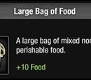 Large Bag of Food