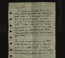 Note from Frank