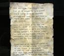 Survivors Note