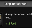 Large Box of Food