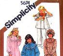 Simplicity 5674 B