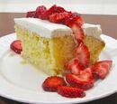 Three-Milk Cake (Pastel de Tres Leches)