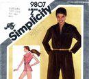 Simplicity 9807 A