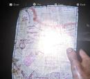 Mapa de las rutas de patrulla