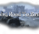 Snowy Road To Bruma