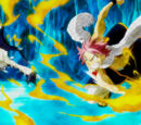 Natsu Dragneel & Lucy Heartfilia lwn. Vulcan (Macao Conbolt)