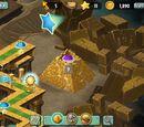 Levels where Treasure Yeti never appears