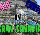 JoJo i Chris na Gran Canaria