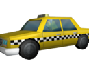 Dodge Aries taxi (The Simpsons: Hit & Run)
