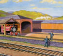 Skarloey Railway Engine Sheds/Gallery