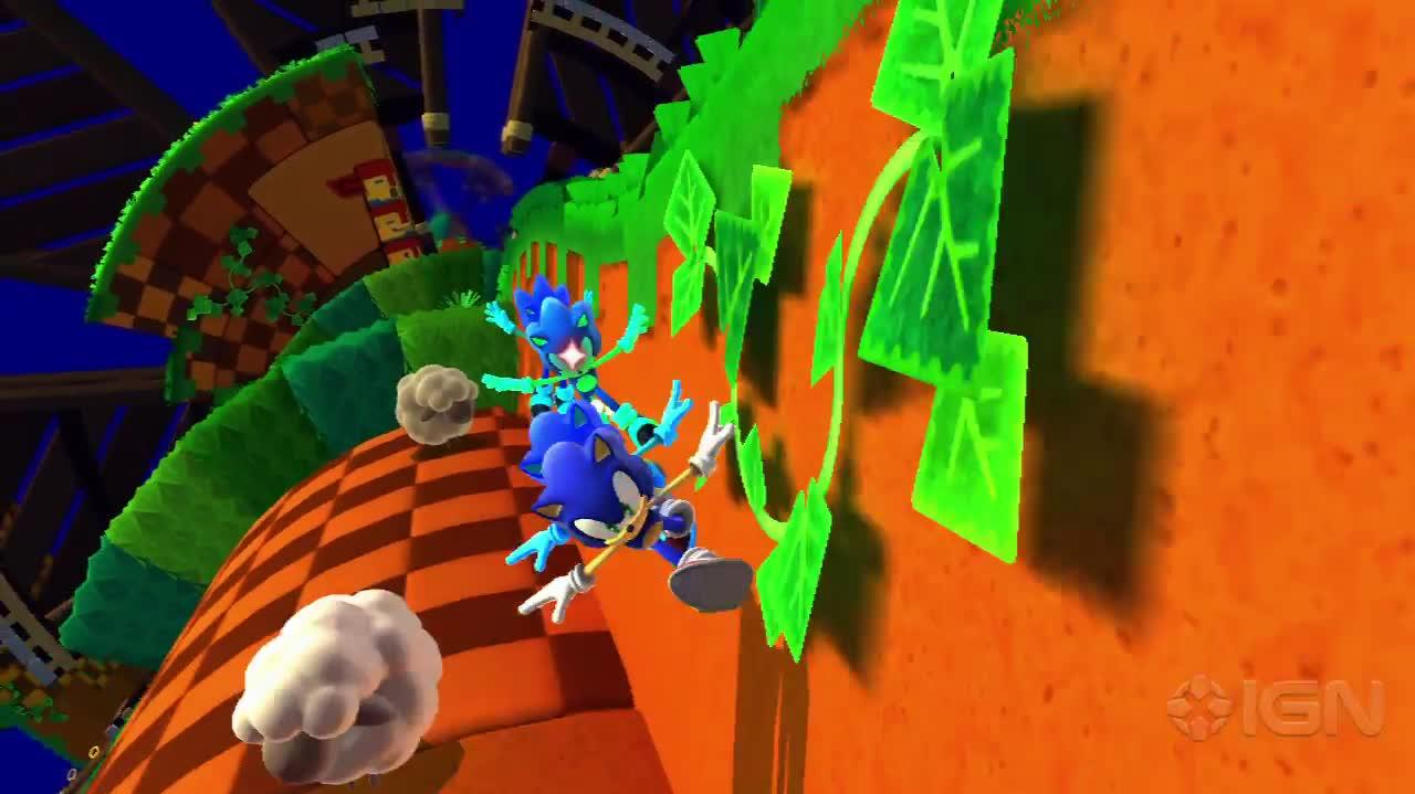 Sonic Lost World - Colors Trailer