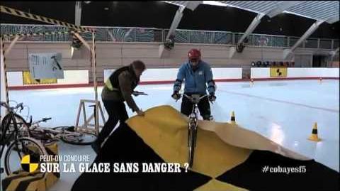 ON N'EST PAS QUE DES COBAYES ! │ S02 E18 │Peut-on conduire sur la glace sans danger ?