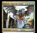 Isperia, Supreme Judge
