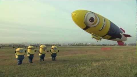 Despicable Me 2 - Despicablimp Time Lapse and Launch-2
