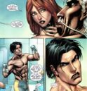 Hope Summers (Earth-616), Max Eisenhardt (Earth-616), and Julian Keller (Earth-616) from X-Men Second Coming Vol 1 2 0001.jpg