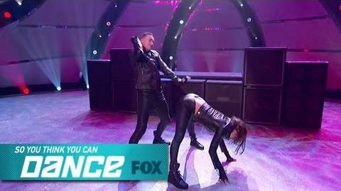 Jenna & Tucker Top 14 Perform SO YOU THINK YOU CAN DANCE FOX BROADCASTING