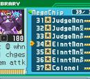 List of Mega Man Battle Network 6 Battle Chips