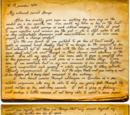 Letter to George