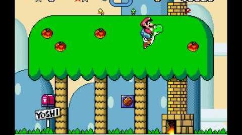 Niveles de Super Mario World