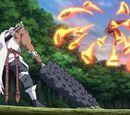 Elemento Fuego: Uñas de Carmesí Flor de Llamas de Fénix